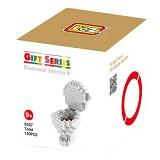 LOZ Small Toilet [9307] - Building Set Architecture